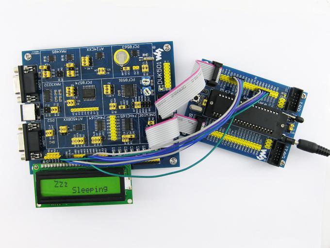 lcd1602显示实验