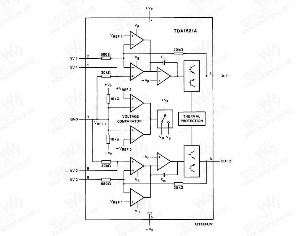 tda4864a场扫描电路图