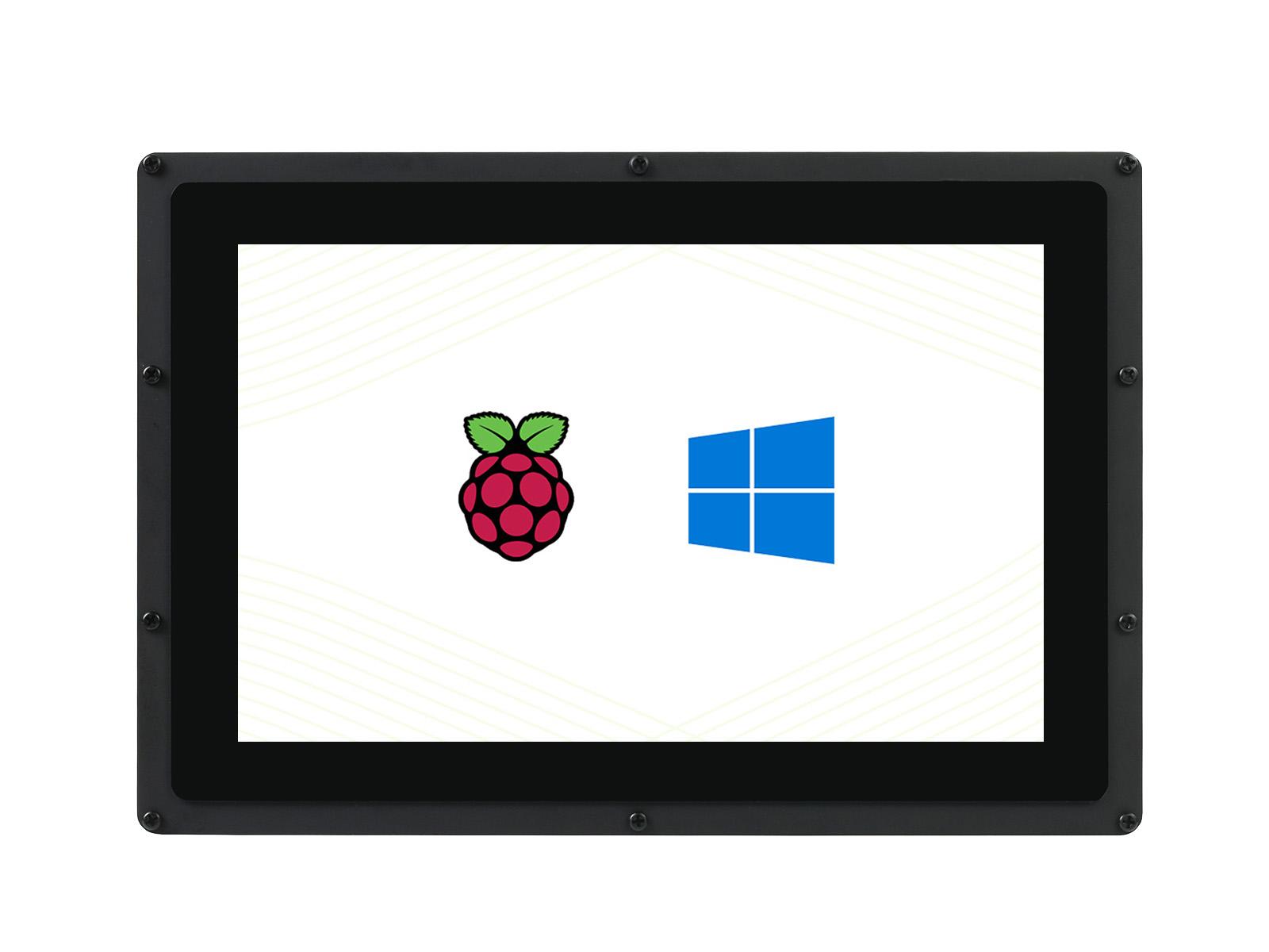 10.1寸电容屏B版 1280×800 IPS 钢化玻璃面板 低功耗版