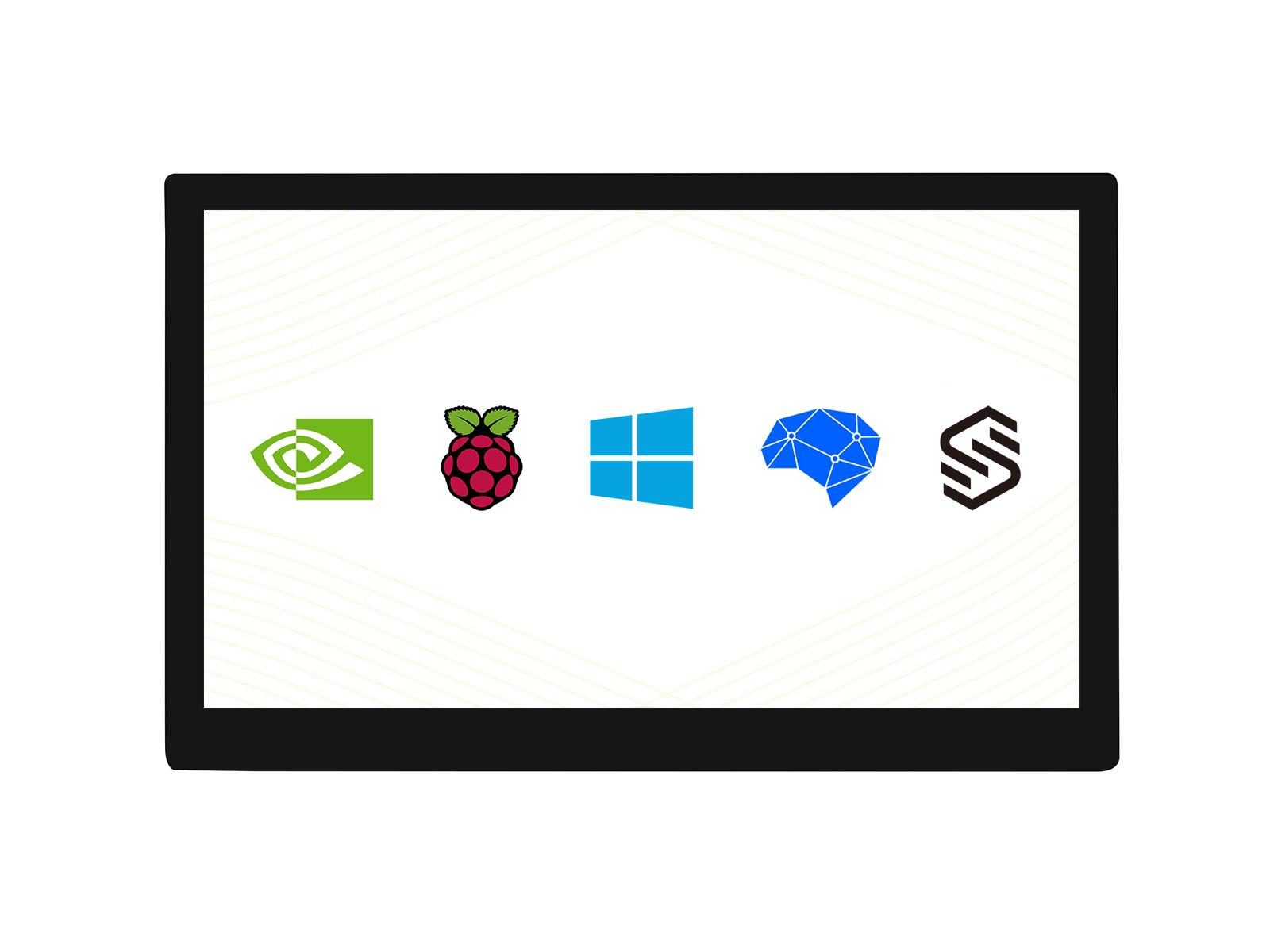 10.1寸QLED量子点显示屏 1280×720 G+G钢化玻璃面板 高兼容性