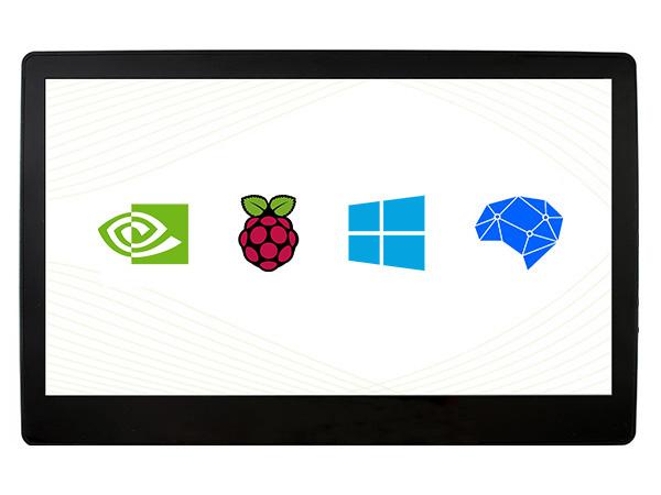 11.6寸电容屏 1920×1080 IPS 钢化玻璃面板 高兼容性
