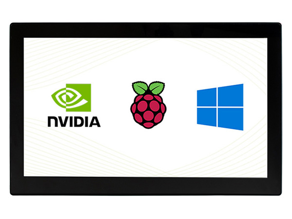 13.3寸电容屏V2版 1920×1080 IPS 钢化玻璃面板 高兼容性