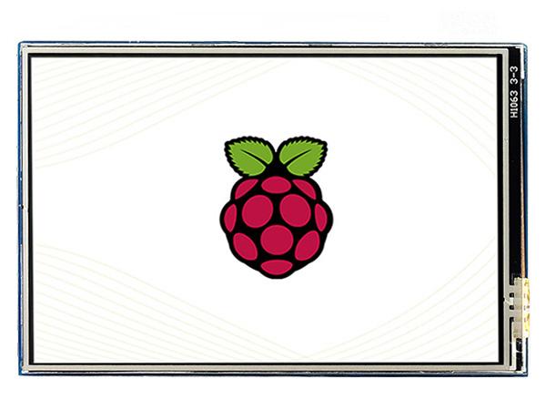 3.5寸树莓派电阻屏B版 480×320 IPS屏 SPI
