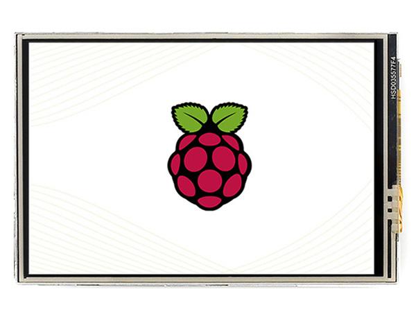 3.5寸树莓派电阻屏C版 480×320 高速SPI