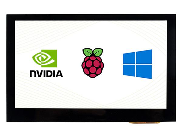 4.3寸电容屏 800×480 IPS 高兼容性