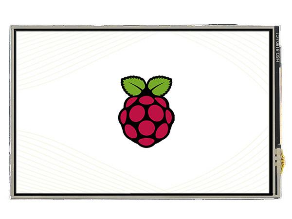 4寸树莓派电阻屏C版 480×320 高速SPI