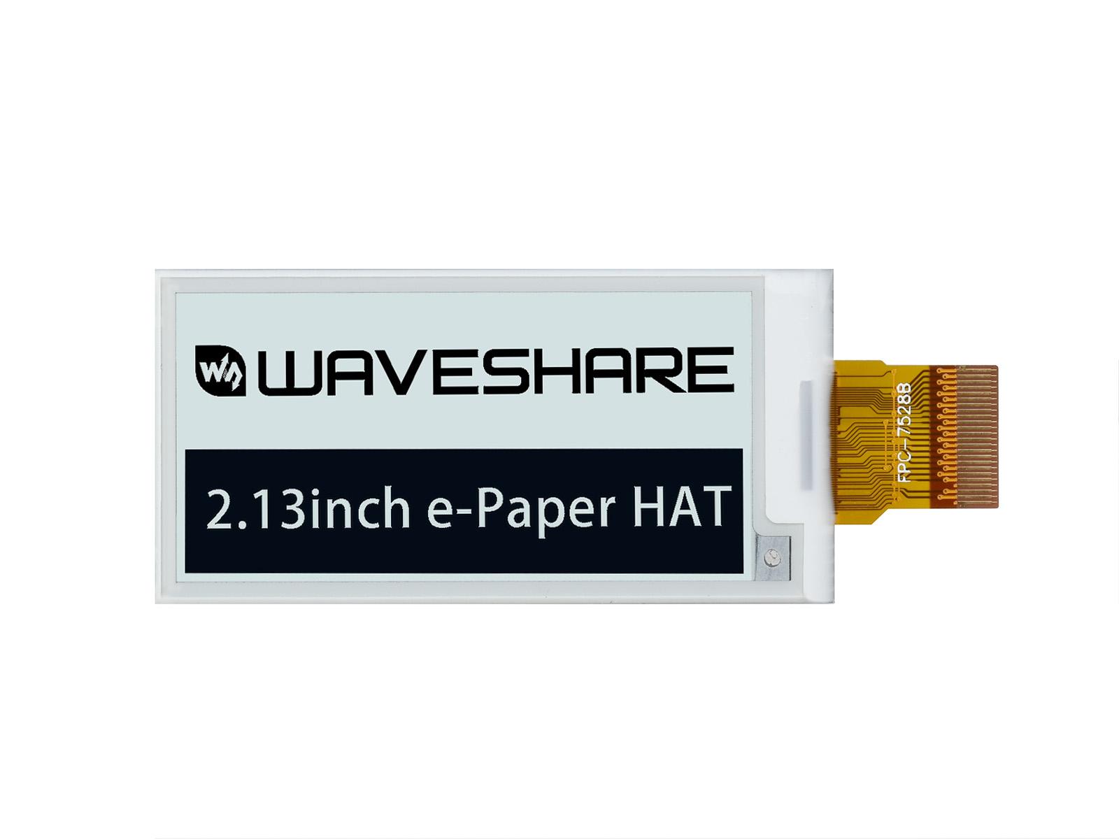 2.13寸电子墨水屏 电子纸屏 250×122分辨率 黑白