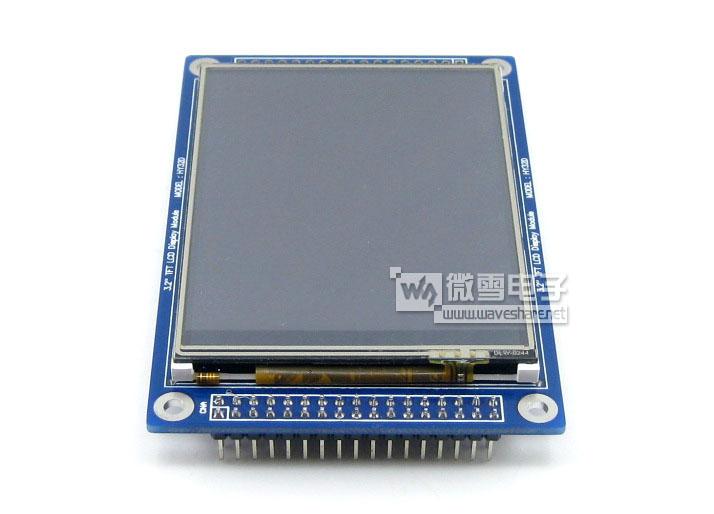 lcd控制芯片ssd1289,触摸面板控制芯片xpt2046  类型 tft 接口 lcd:1