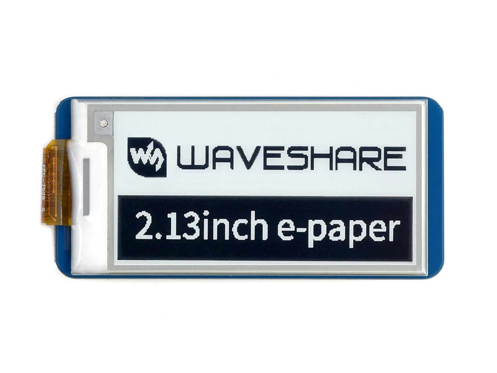 2.13寸Pico电子墨水屏扩展板 e-paper 250×122分辨率 SPI通信