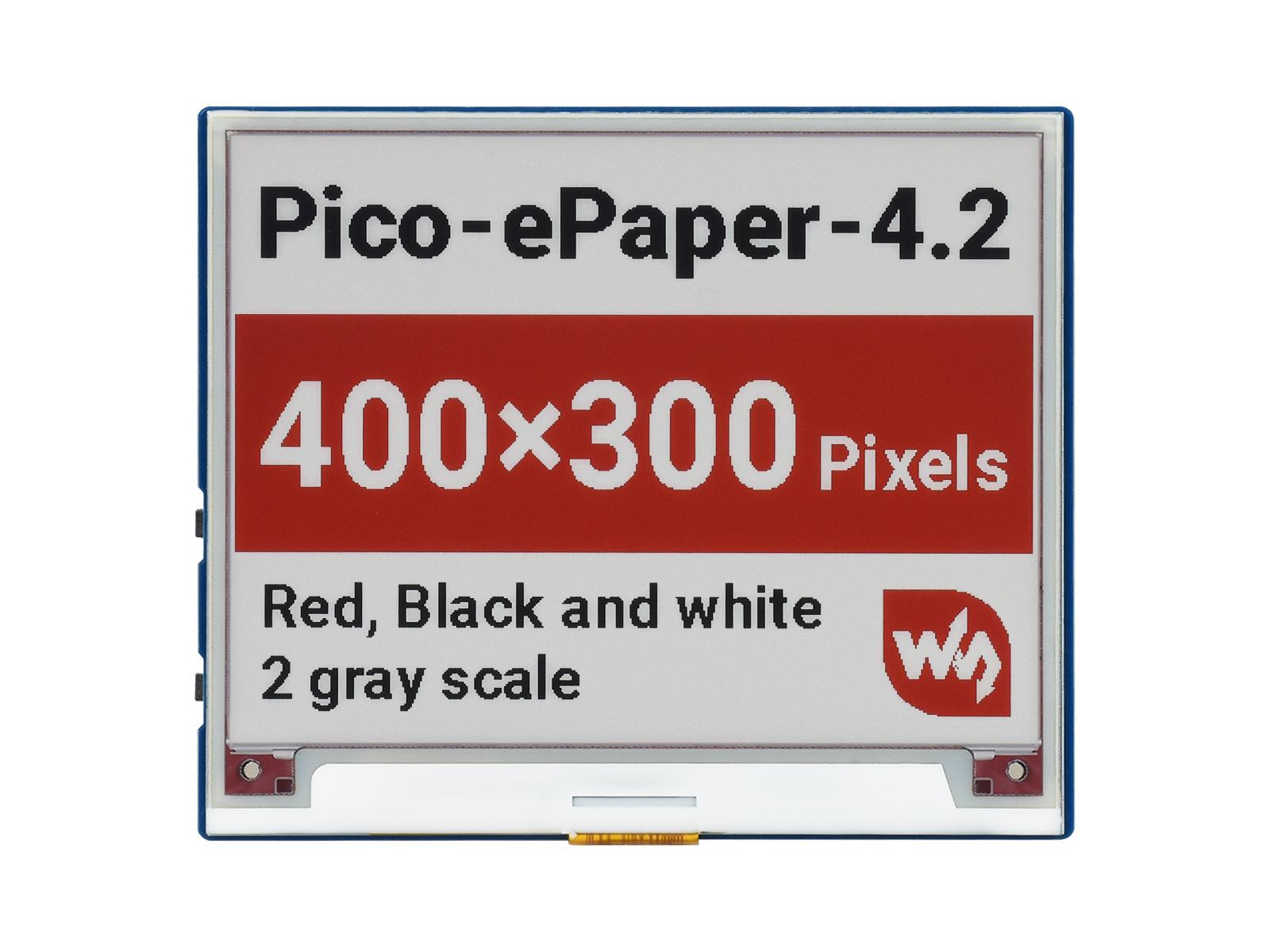 4.2寸红色e-Paper电子墨水屏Pico扩展板