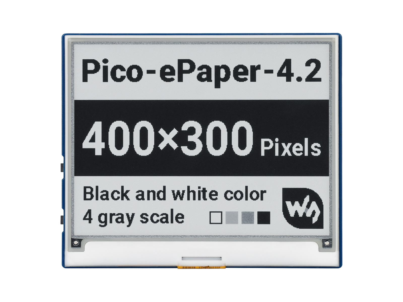 4.2寸黑白e-Paper电子墨水屏Pico扩展板