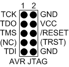 Atmel-ICE原装 标准JTAG 10PIN接口