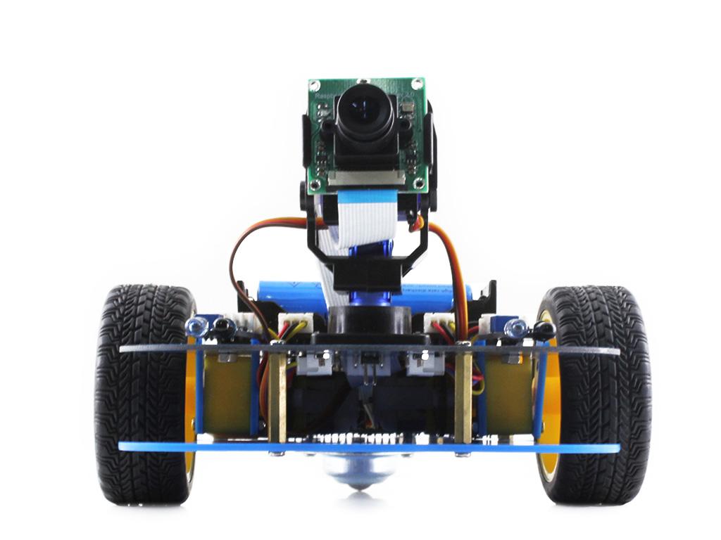 botbd_树莓派3代b arduino 智能车 alphabot-pi智能车正面图