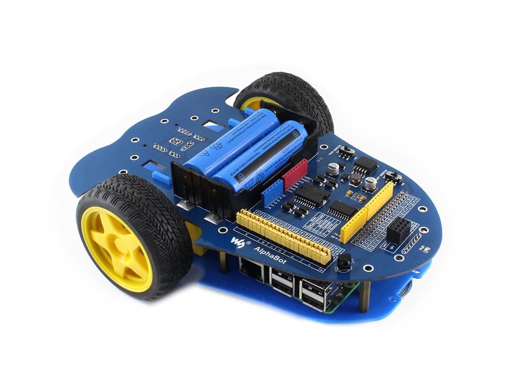智能小车机器人 支持接入树莓派和Arduino