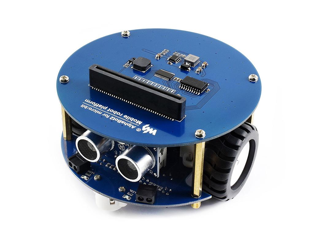 智能车 机器人 Micro:bit  智能车配件包 寻迹小车