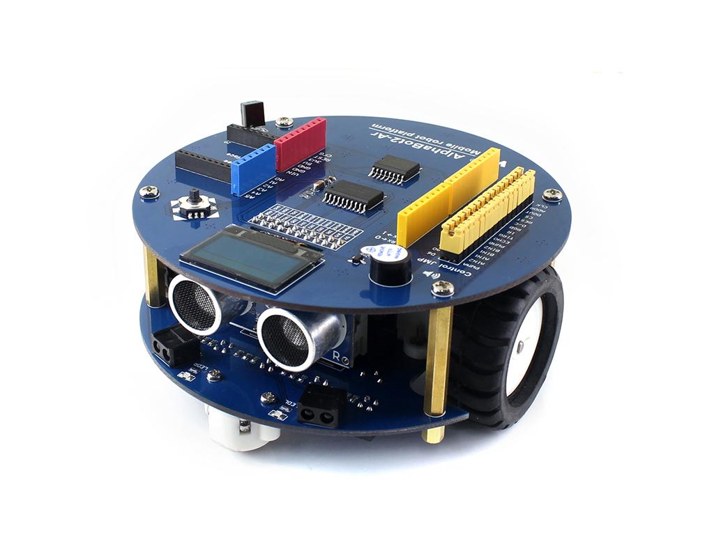 智能车 机器人 Arduino AlphaBot2 智能车学习板