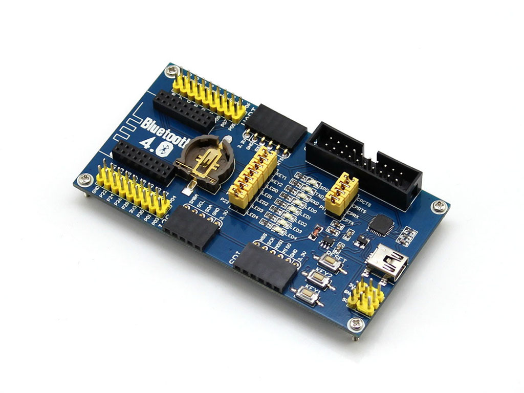 NRF51822蓝牙模块底板
