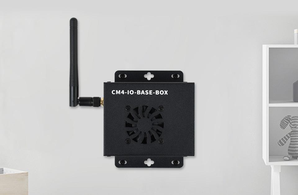 CM4 計算模塊迷你主機支持壁掛