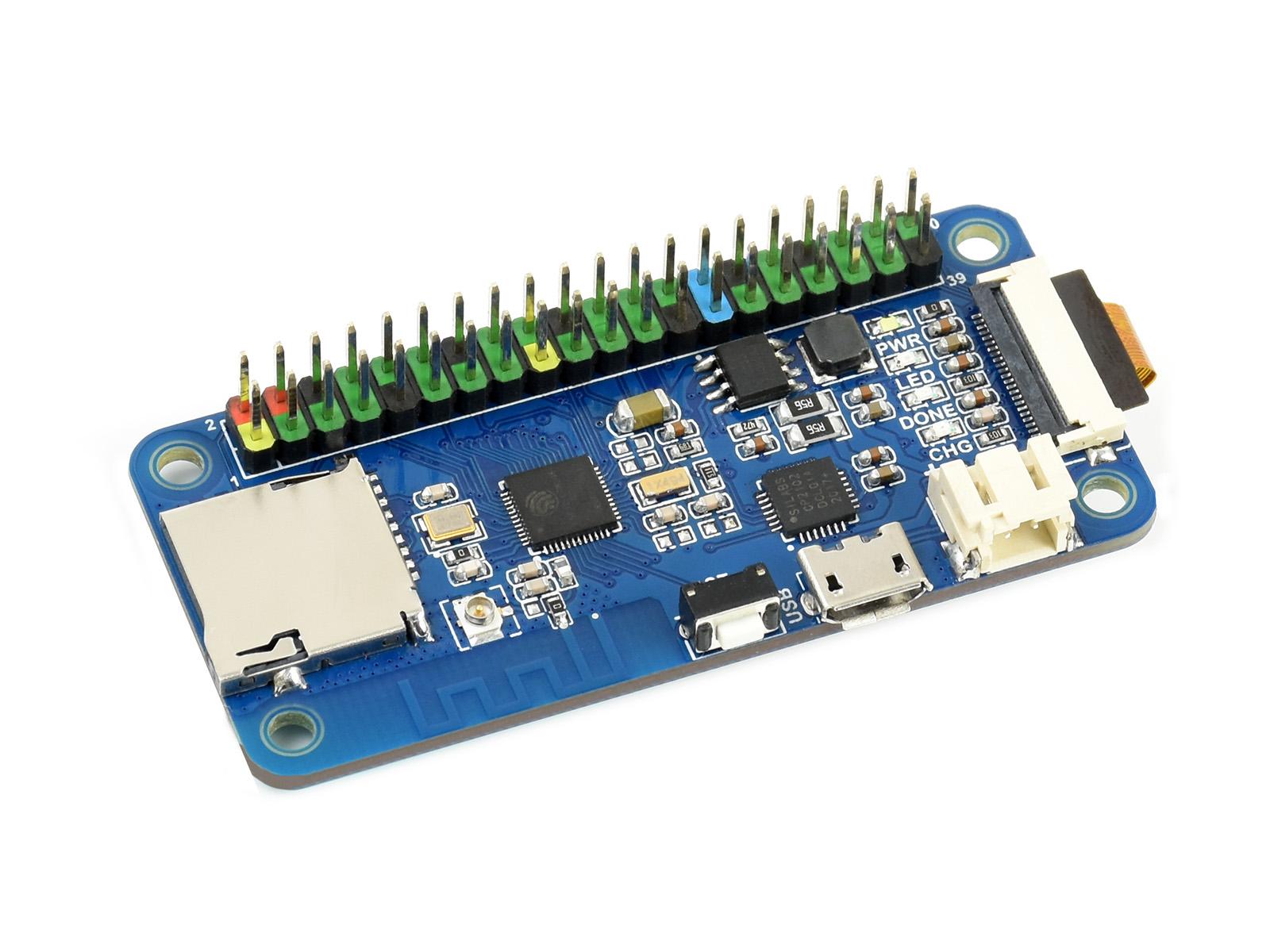 ESP32开发板含摄像头 WiFi蓝牙双模通信开发板