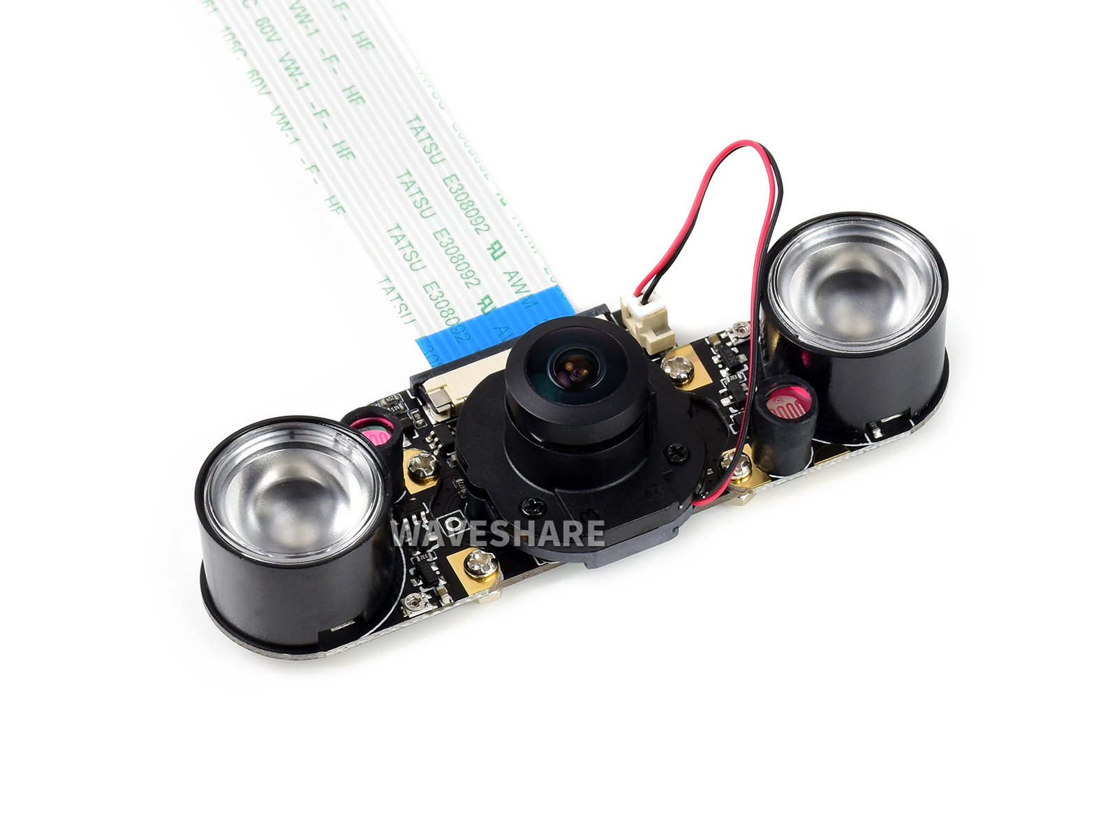 800万像素IR-CUT红外夜视摄像头模块 自带红外补光灯
