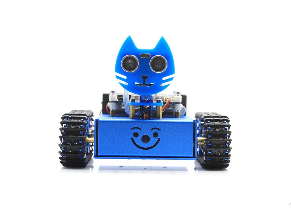 KitiBot履带智能机器人学习板套餐 基于ATMEGA2560-16AU设计的开发板