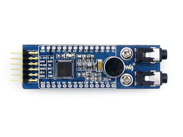 弯排针 ld3320 board (b):直排针 产品资料 资料包括: 用户手册 电路