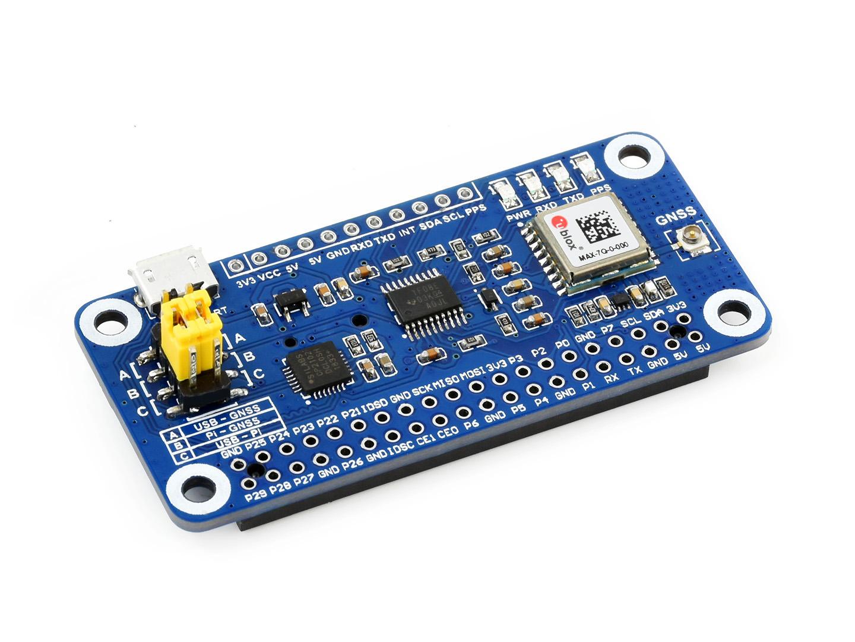 树莓派GNSS扩展板 基于MAX-7Q全球导航卫星系统