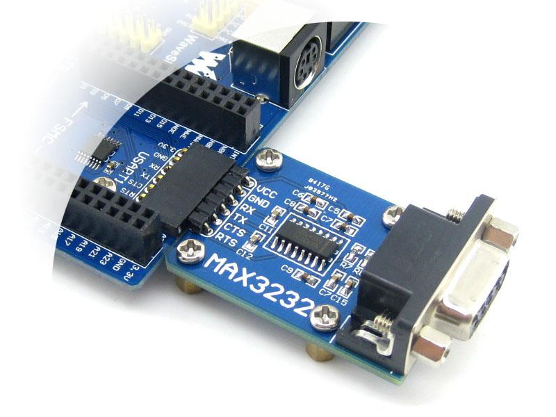 rs232 通信模块 串口 max3232