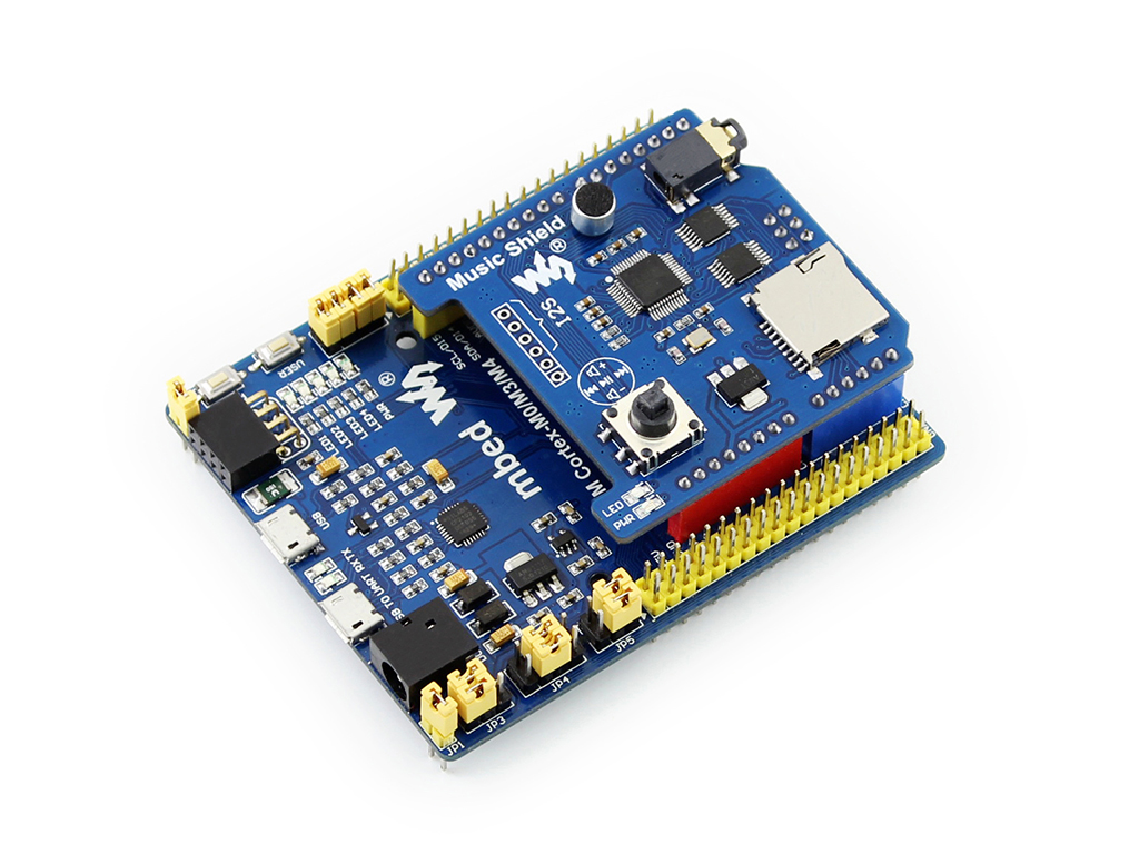 arduino mp3播放器扩展板接入xnucleo