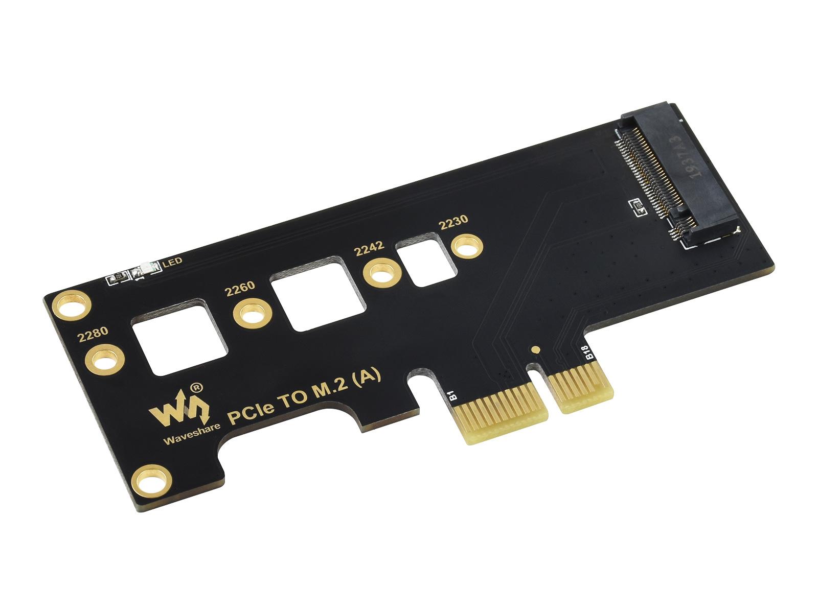 PCI-E转M.2转接卡 升级硬盘SSD固态硬盘卡 支持CM4