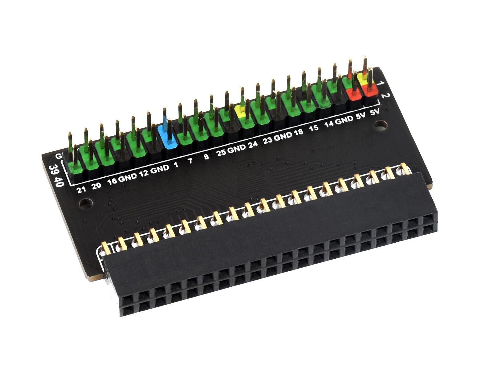 Raspberry Pi 400接口转接模块 接口扩展延长