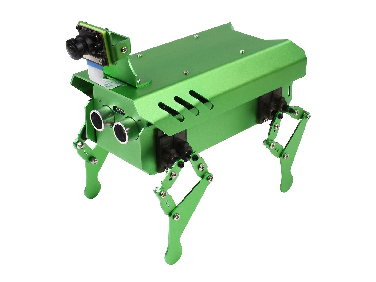PIPPY 四足机器人基于树莓派开源仿生机器狗