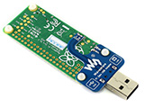Raspberry Pi RS480 CAN HAT 扩展板斜视图背面