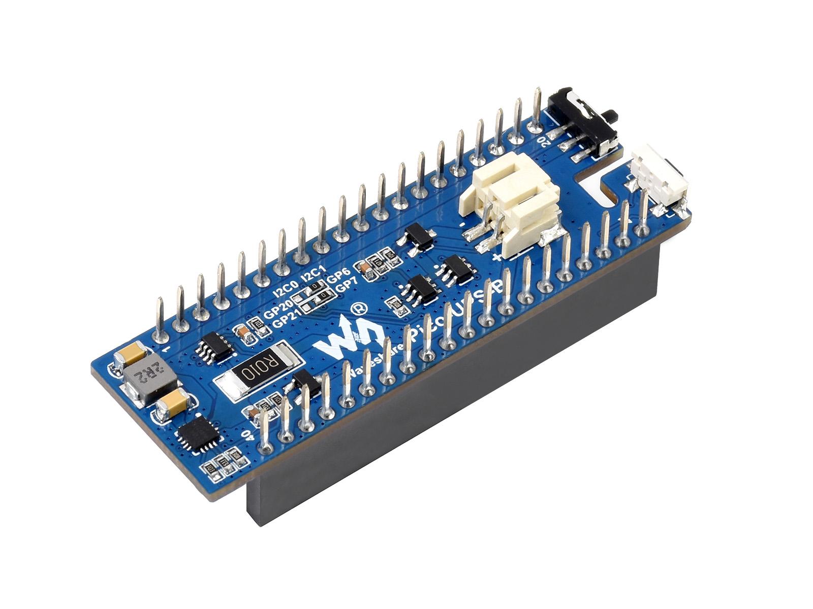 树莓派Pico UPS不间断电源扩展板 600mAh锂电池