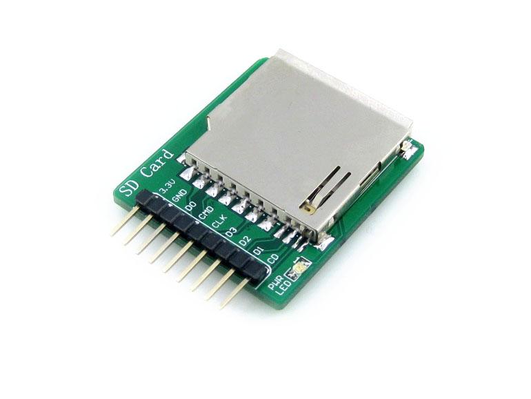 TF卡扩展模块 SD卡存储模块 支持SDIO及SPI接口