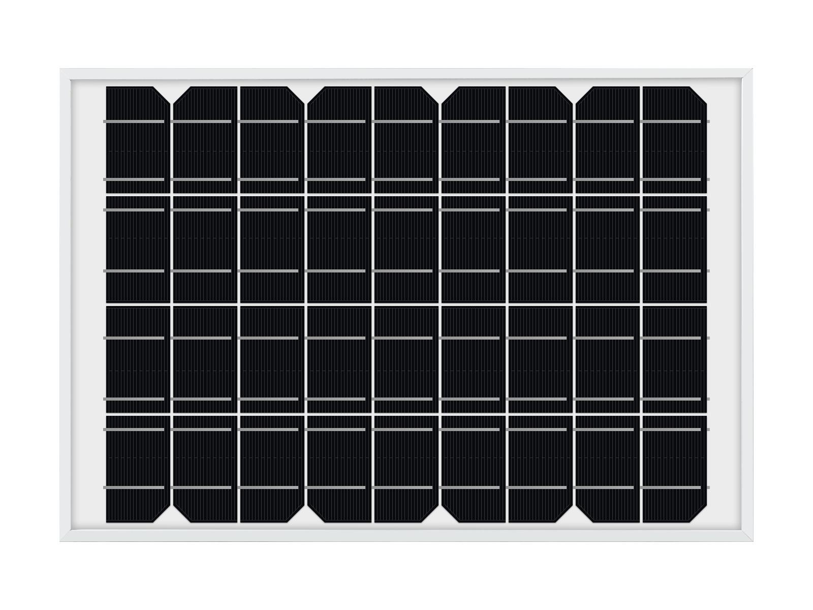 多晶硅太阳能电池板 10Wp功率光伏板发电板