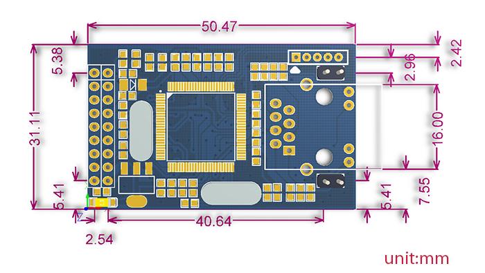 电路板 户型 户型图 平面图 700_395