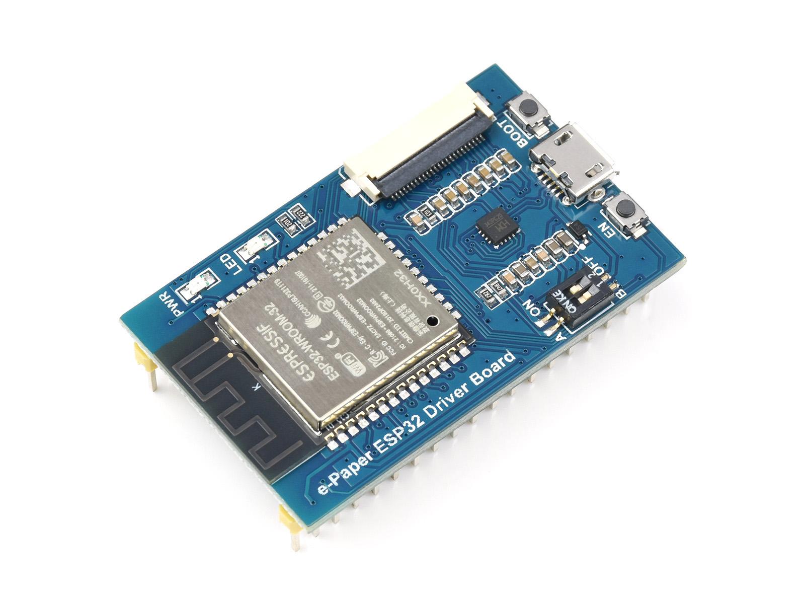 电子墨水屏无线网络驱动板 ESP32 支持WiFi和蓝牙