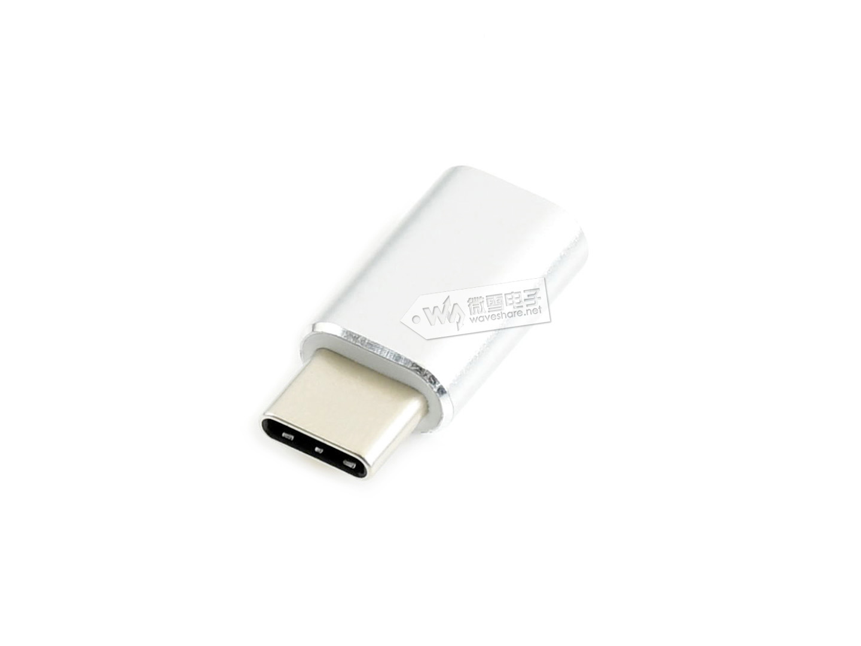 USB接口转接头 Micro USB母口 转USB Type C公口