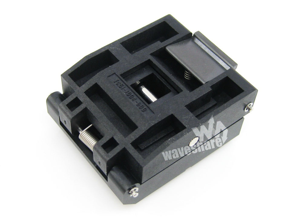 QFP100 PQFP100 TQFP100 IC引脚间距0.5mm 测试座