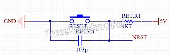 stm8单片机基本硬件线路设计