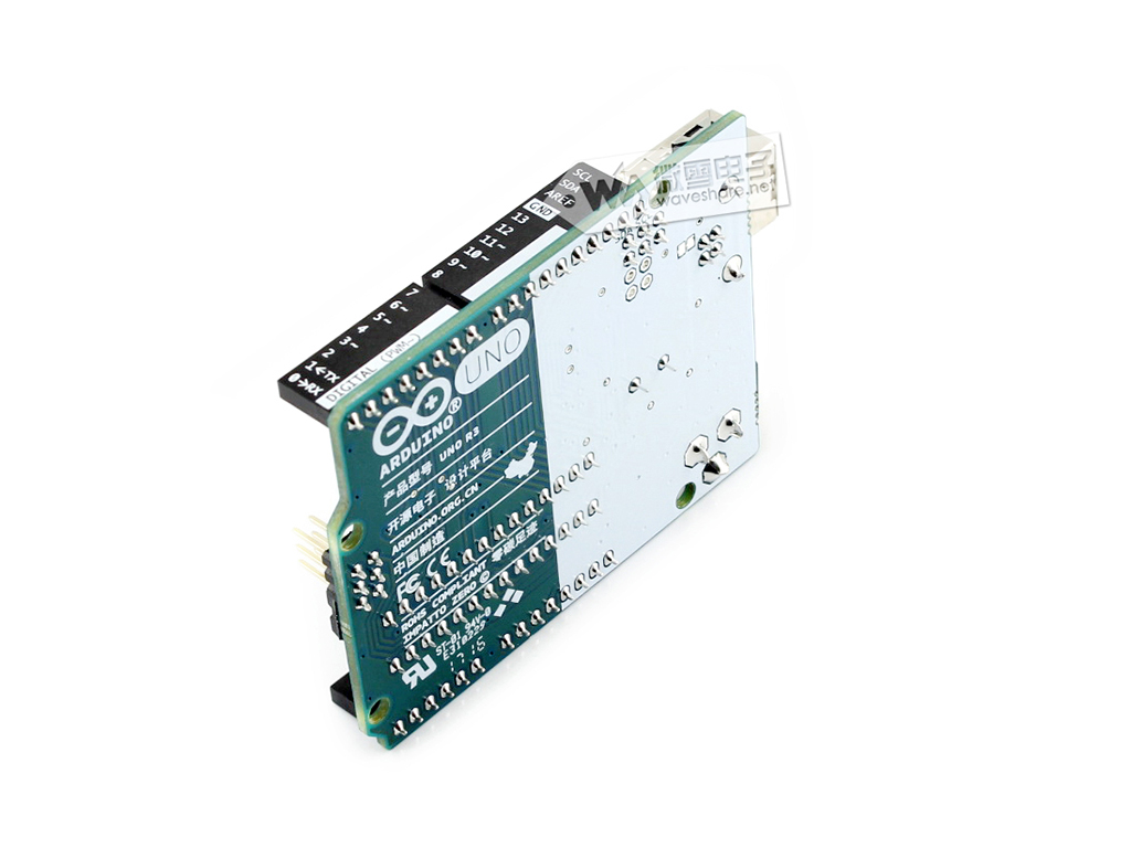 arduino uno r3图片展示 产品资料                           电路