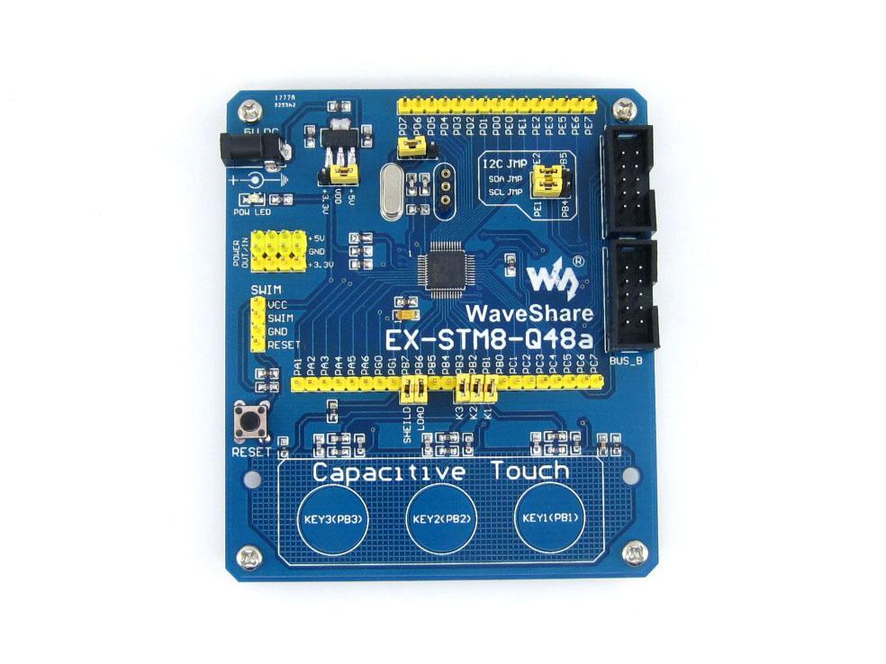 stm8s207cb 开发板 学习板