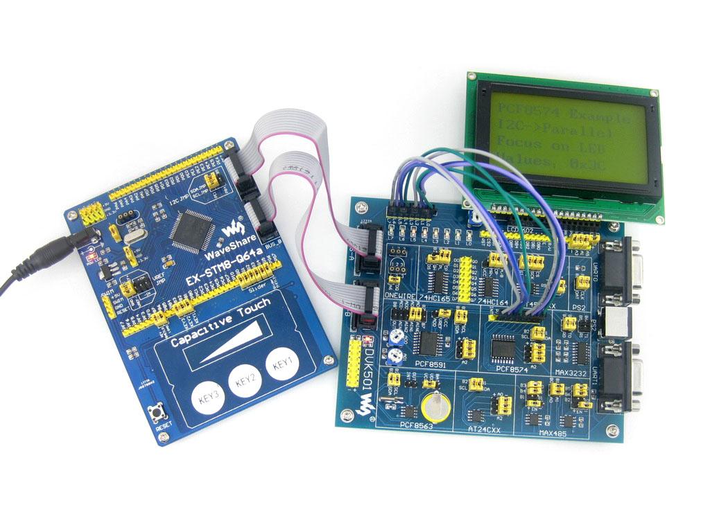 stm8 io口内部电路