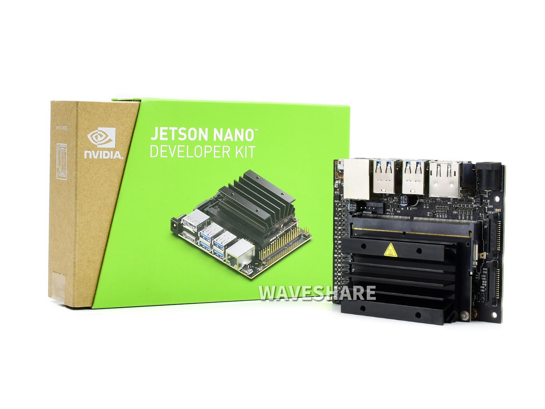 英伟达 Jetson Nano Developer Kit AI人工智能开发板 新版本B01 功能升级 2路CSI