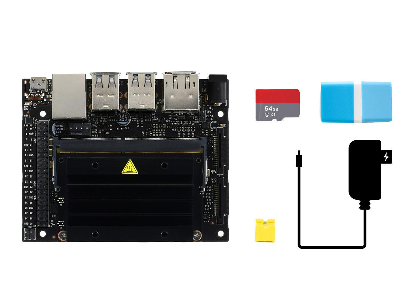 英伟达 Jetson Nano Developer Kit 内存卡套餐