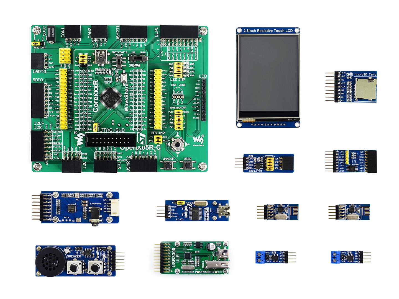 STM32F405RGT6开发板 学习板 套餐B 含9款模块