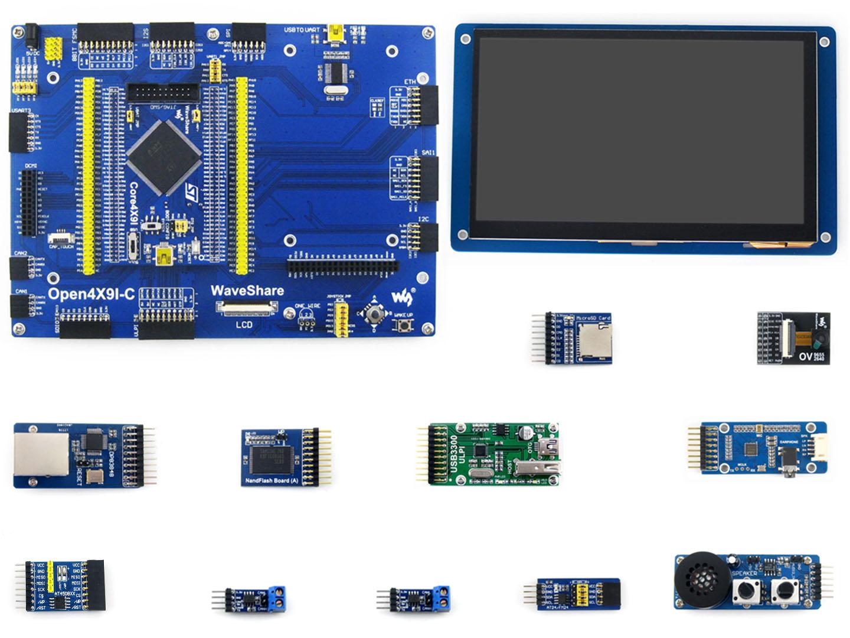 STM32F429IGT6开发板 学习板 套餐B 含11款模块