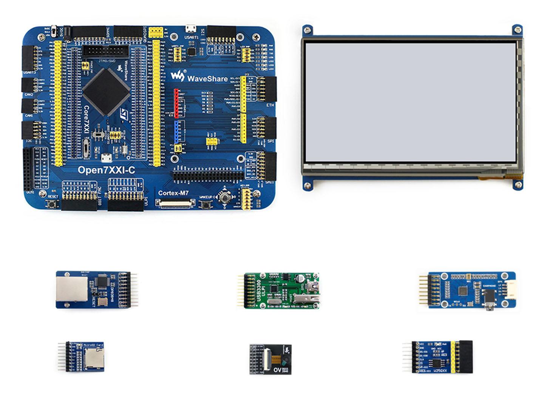 STM32F746IGT6开发板 学习板 套餐A 含7款模块