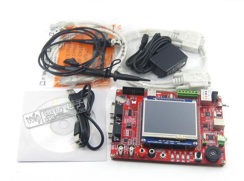 5触摸屏 开发板 stm32f103zet6 stm32 可作示波器 arm; 红牛stm